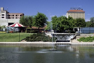 Fountains On The Concho River