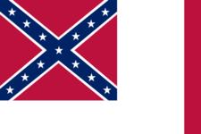 Confederate National Flag Since Mar 4 1 8 6 5