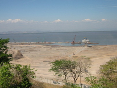 Construction Of The New Port