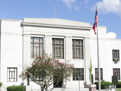 Cook County Courthouse In Adel Georgia