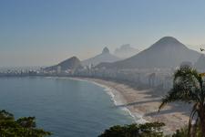 Copacabana Vew From Forte Leme