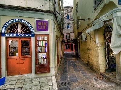 Corfu Narrow Lanes