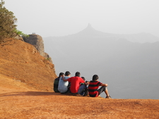 Coronation Point Visitors - Matheran - Maharashtra - India