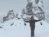 Cortina Ski Area Lagazoui Bada Vale & Cinque Torri - Dolomites Italy
