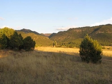 Cougar Canyon And Grass Valley View