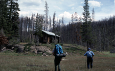 CougarCreekPatrolCabin At Yellowstone
