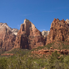 Court Of The Patriarchs - Zion - Utah - USA