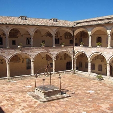 Courtyard Of The Friary