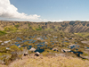 Crater At Orongo Site - Easter Island