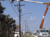 Crews Work Melbourne Beach FL