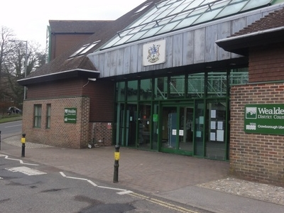 Crowborough  Library And  W D C
