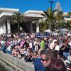 Crowd Near Conventional Center