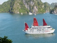 Halong Bay 1 Day Only 38 USD