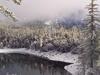 Crystal Lake In Winter