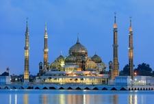 Crystal Mosque In Kuala Terengganu