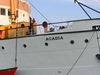 Starboard Bow Of CSS Acadia