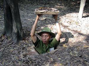 Cu Chi Tunnels - Experiencing Vietnam War Photos