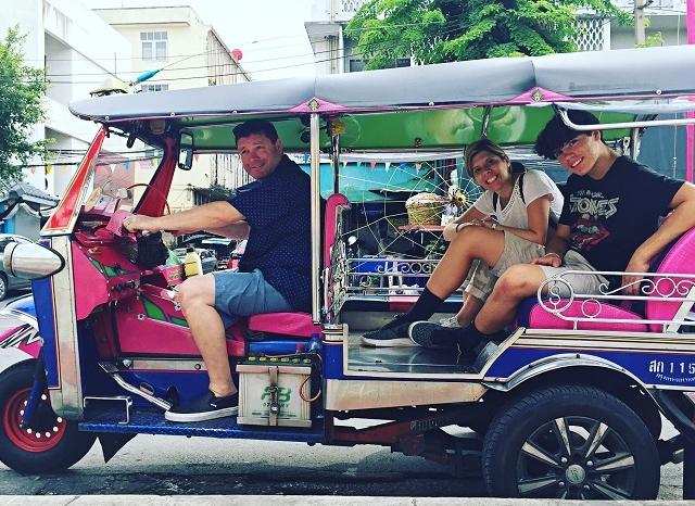 Tuk Tuk Tour in Bangkok by Night Photos