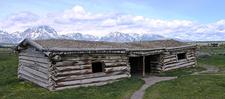 Cunningham Cabin At Grand Tetons - Wyoming - USA
