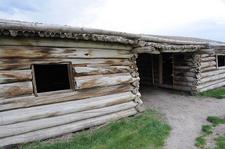 Cunningham Cabin Close Up - Grand Tetons - Wyoming - USA