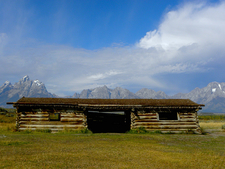 Cunningham Cabin View - Grand Tetons - Wyoming - USA