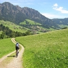 Cyclist In Tyrol - Austria