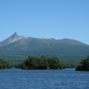 Hokkaidō Koma-ga-take View From Lake Ōnuma