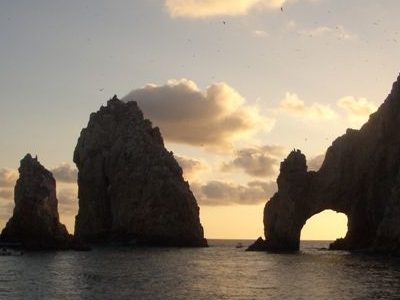 The Distinctive El Arco Rock Formation
