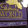 Cadbury World Sign