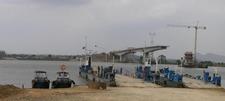 Caia Bridge Under Construction