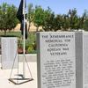 California Korean War Memorial Front