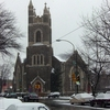 Calvary United Methodist Church In The Snow
