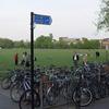 Cambridge Parkers Piece Bicycle Racks