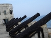 Cannons At  Cape  Coast  Castle