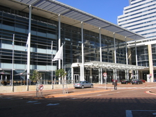 The Main Entrance To The CTICC