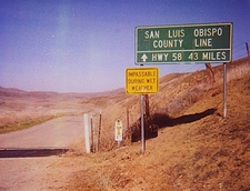 Carrizo Soda Lake Road