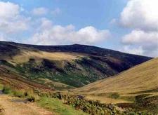 Carrock Fell Seen From Caldew Valley