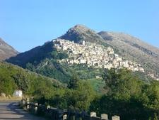 View Of The Alburni In Castelcivita