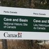 Caveand Basin Entrance Sign