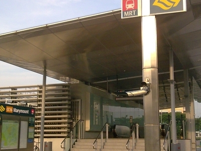 Marymount MRT Station Exit
