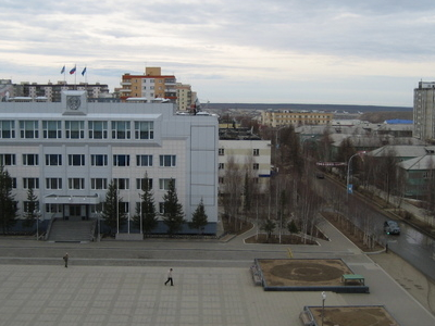 Central Square In Mirny