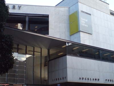Central City Library Auckland