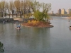 Boats At Beijing Chaoyang Park