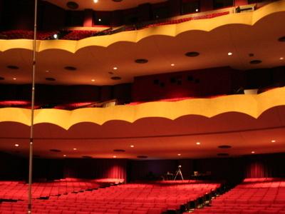 Interior Of The Chester Fritz Auditorium