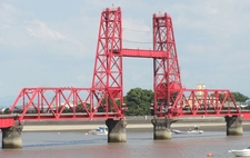 Chikugo River Lift Bridge