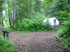 Chilkoot Trail Finnegan\\\'s Point