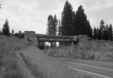 Chinook Pass Entrance Arch