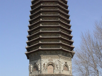 Pagoda Temple Of Cishou