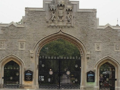 City Of London Cemetery Gate