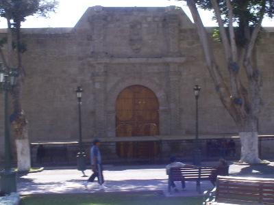 Facade Of Matriz Church